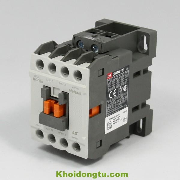 Khởi động từ Contactor LS 3P 12A 220V MC-12a