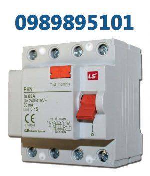 RCBO LS CB tép bảo vệ quá tải và chống rò điện, loại RKP, RKN